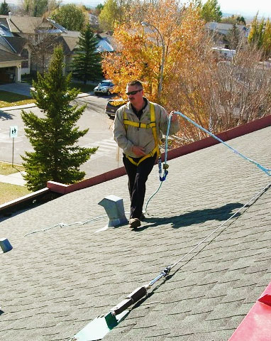 Roof Fall Protection Rooftop Fall Restraint Systems