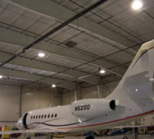 Tritech Fall Protection Systems creates effective fall protection solutions for aircraft workers and hangars.