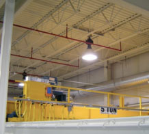 Tritech Fall Protection Systems provides top quality crane rail fall protection solutions.